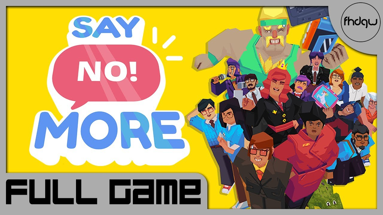 Download Say No! More - Full Game Walkthrough (No Commentary)