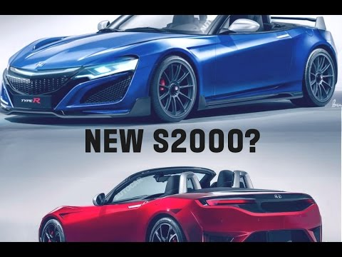 Wonderful Hondau0027s New Sports Car | New S2000