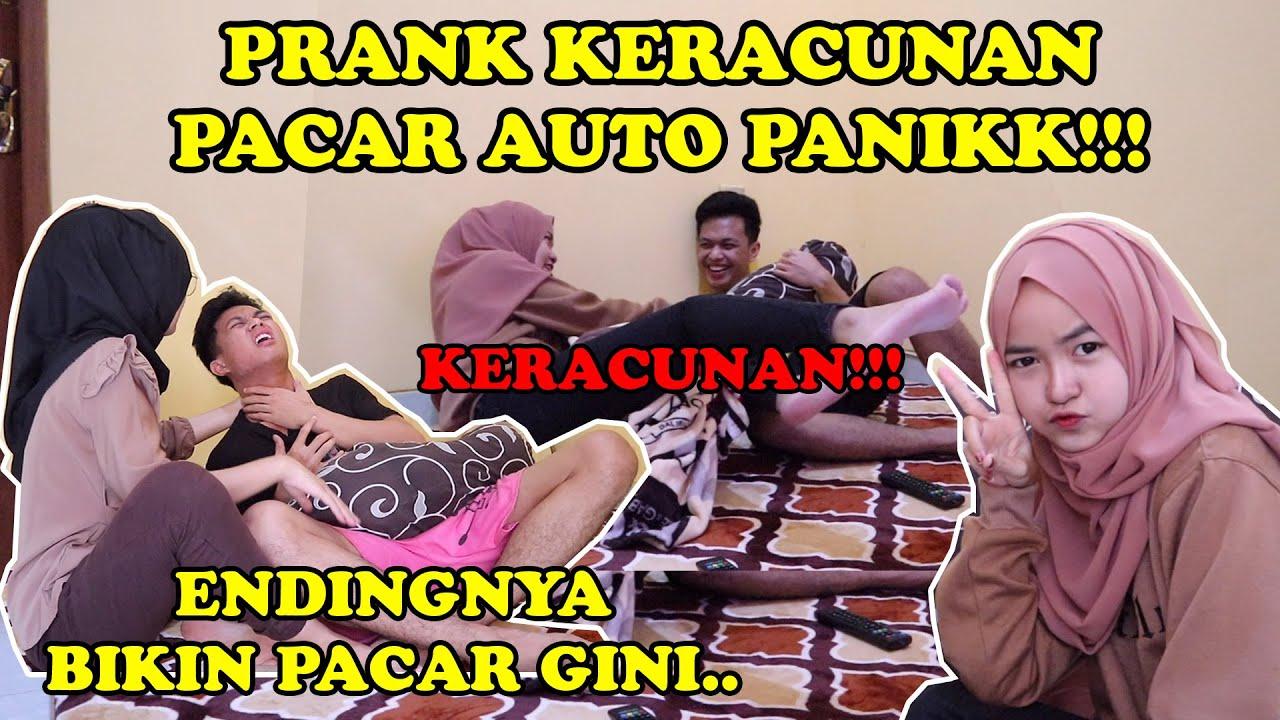 PRANK PACAR KERACUNAN LANGSUNG PANIK!!! || ENDINGNYA GAGAL TOTAL!!!