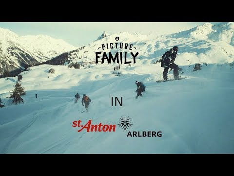 Picture Family | Friends Riding In St Anton
