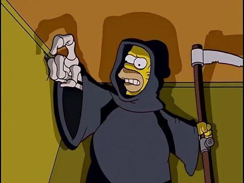Симпсони- Гомер стал смертью!