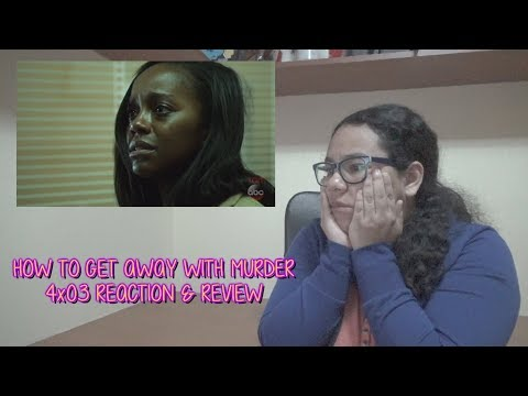 "How To Get Away With Murder 4x03 REACTION & REVIEW ""It's for the Greater Good"" S04E03 