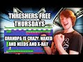 Threshers Free Thursdays: Grandpa Is Crazy, Naked And Needs An Xray