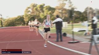 Womens A 800m: 2019-20 Victorian Milers Club - Meet 2 // aeTV