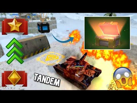 Tanki Online Tandem Road To Brigadier #3 (192.000 XP) - Third Lieutenant