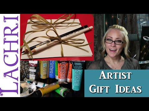 Gift ideas for artists w/ Lachri