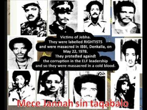 Dankalia Martyrs (Dankaliyah Shohoda Yalli tenal raxmato) 22.05.1978 Mirad Part 4