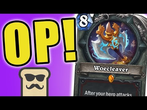 WOECLEAVER IS ACTUALLY GOOD?! | BIG WARRIOR | HEARTHSTONE | KOBOLDS AND CATACOMBS | DISGUISED TOAST