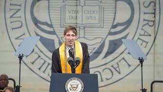 Notre Dame Commencement 2017: Valedictory Address by C.J. Pine