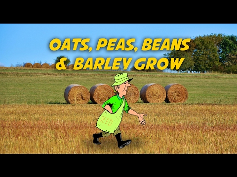 Oats, Peas, Beans and Barley Grow | Free Nursery Rhymes [Karaoke with Lyrics]