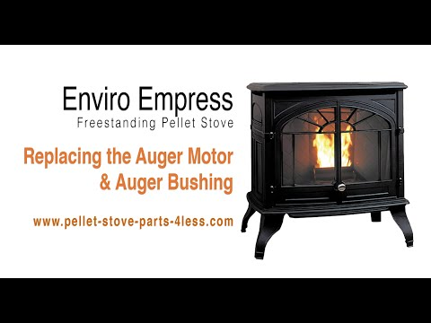 How To Replace The Auger Motor And Auger Bushing On An Enviro Empress