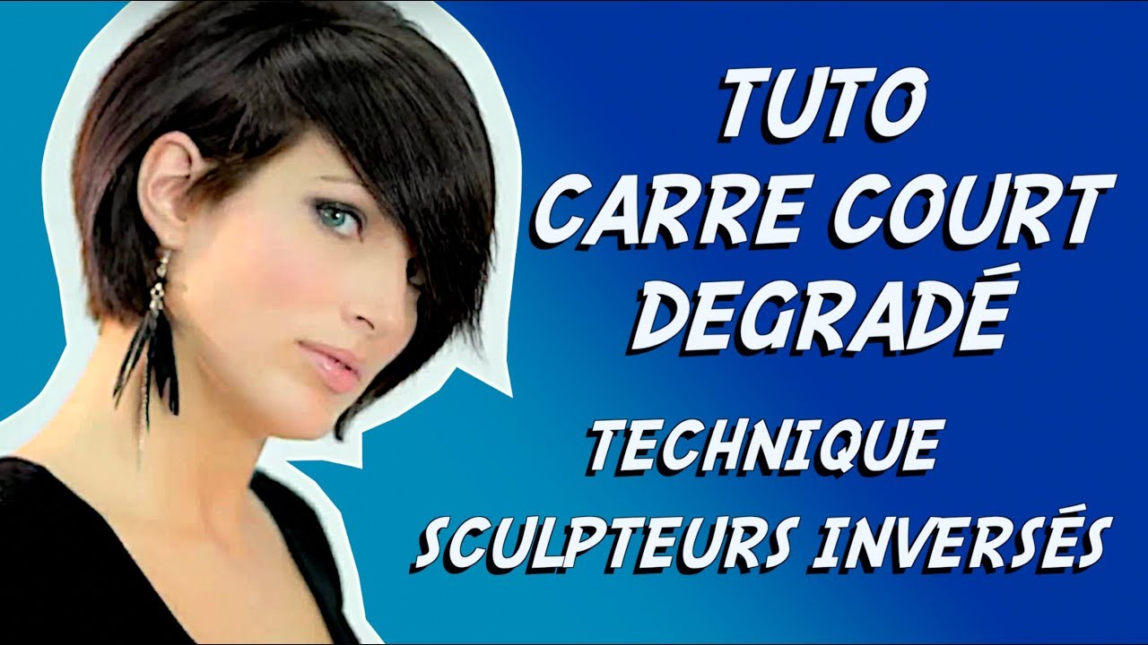 Carre degrade perfectionnement youtube - Carre court degrade ...