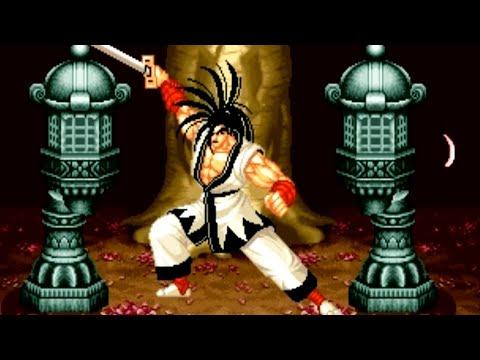 Samurai Shodown (Neo Geo AES) Playthrough - NintendoComplete - 동영상