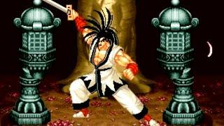 Samurai Shodown (Neo Geo AES) Playthrough - NintendoComplete