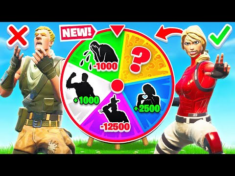 MYSTERY EMOTE WHEEL For LOOT *NEW* Game Mode in Fortnite Battle Royale