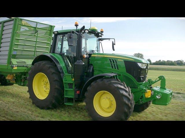 John Deere - Tractor 6M - 6155M-6195M - Segado