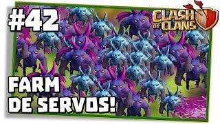 Clash of Clans #42: FARM MONSTRO COM MAIS DE 100 SERVOS! É BOM?