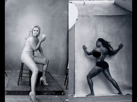 Amy Schumer Serena Williams Pirelli Photos Are Hot In Different Ways