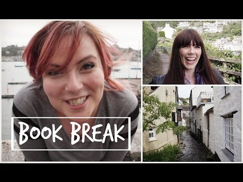 On location in Cornwall with Book Break