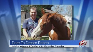 Dare to Dream Ranch provides alternatives for veterans