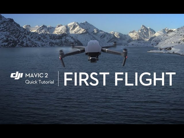 First Flight with Mavic 2 (Beginner Tutorial)