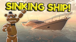 TSUNAMI SINKING SHIP SURVIVAL?! - Garry's Mod Roleplay Gameplay - Gmod Multiplayer Survival