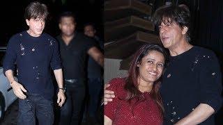 Shah Rukh Khan At Raindrop Media Owner Rohini Iyer's Birthday Party