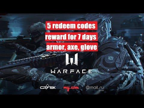 warface redeem code- 5 codes, armor, warlord glove, warface code 2018, all code working