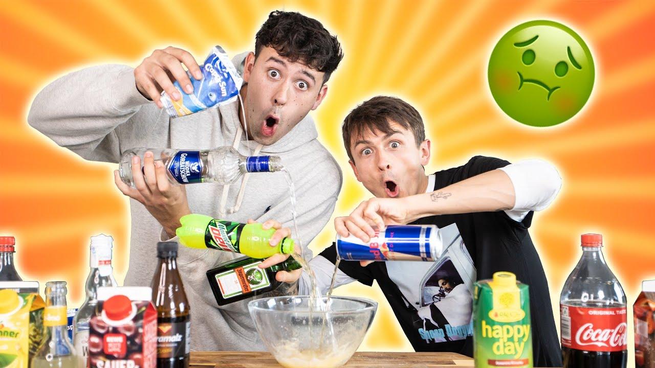 Wir probieren eure ekligsten Getränke-Kombinationen ????