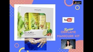 Oriflame New Manicure Set Review & Demonstration || Sandhya Nayak