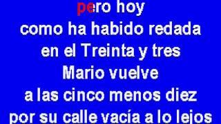 Cruz De Navajas Karaoke