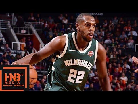Milwaukee Bucks vs Portland Trail Blazers Full Game Highlights / Week 7 / 2017 NBA Season