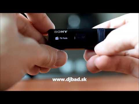 Sony MP3 Walkman 4GB NWZ-B183F, FM radio, black