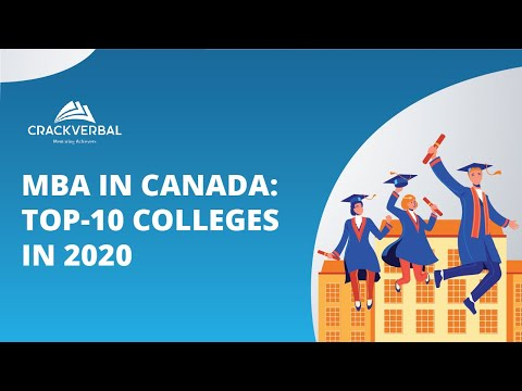 MBA In Canada: Top-10 Colleges In 2020