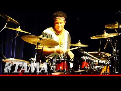 Ronald Bruner Jr. Drum Solo @ Billboard Live Tokyo -TAMA-