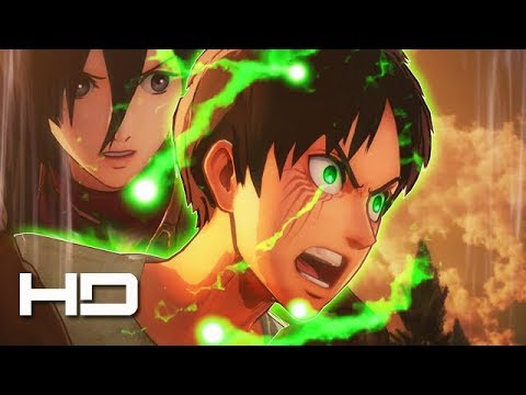 ATTACK ON TITAN 2 (PS4) Eren Awakens Hidden Titan Power ENDING - Walkthrough Gameplay Cutscene