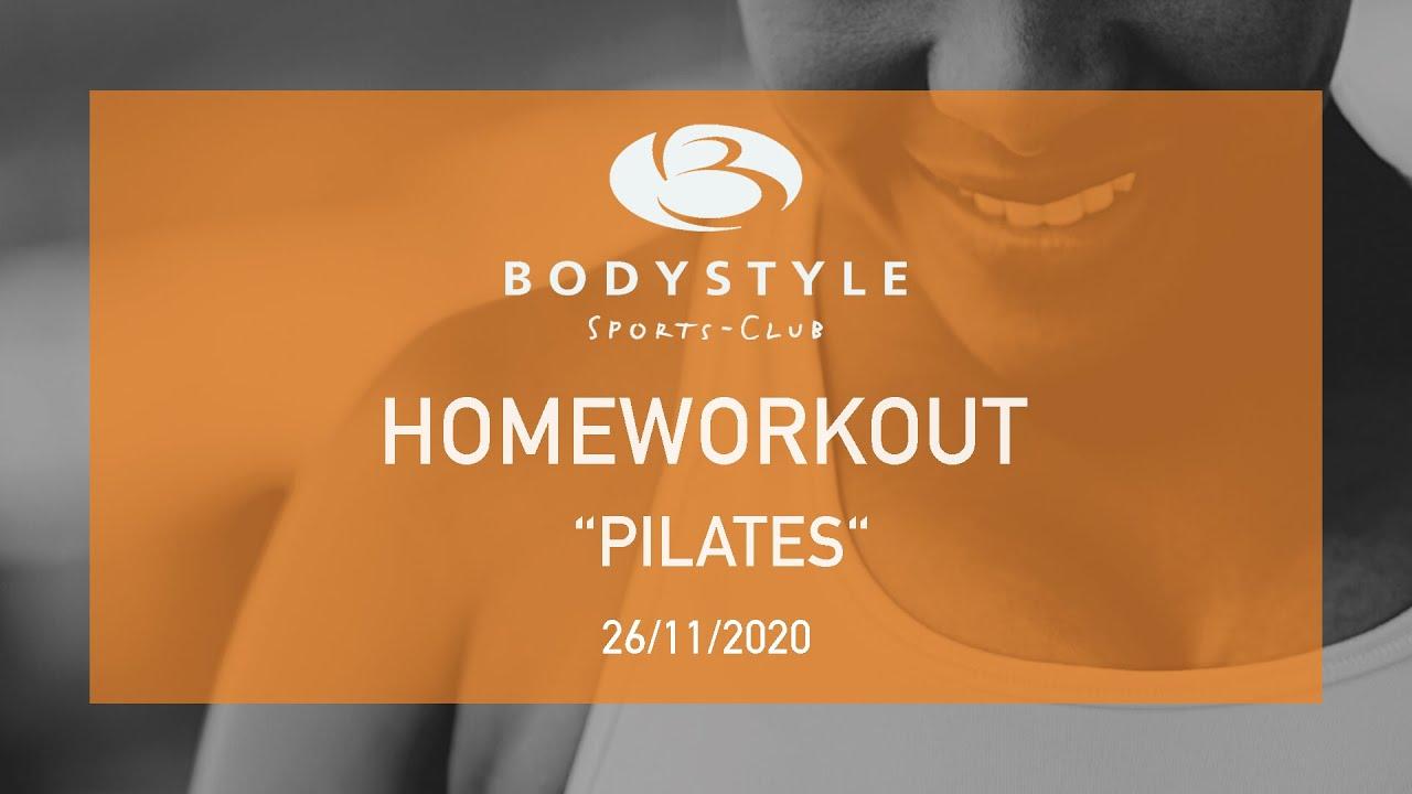Ein neues Pilates Homeworkout Video mit Iris ist online, Viel Spaß damit!