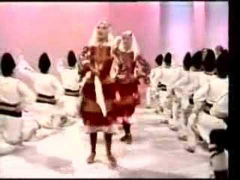 Bulgarian folklore dance part 1 - Live show in Australia