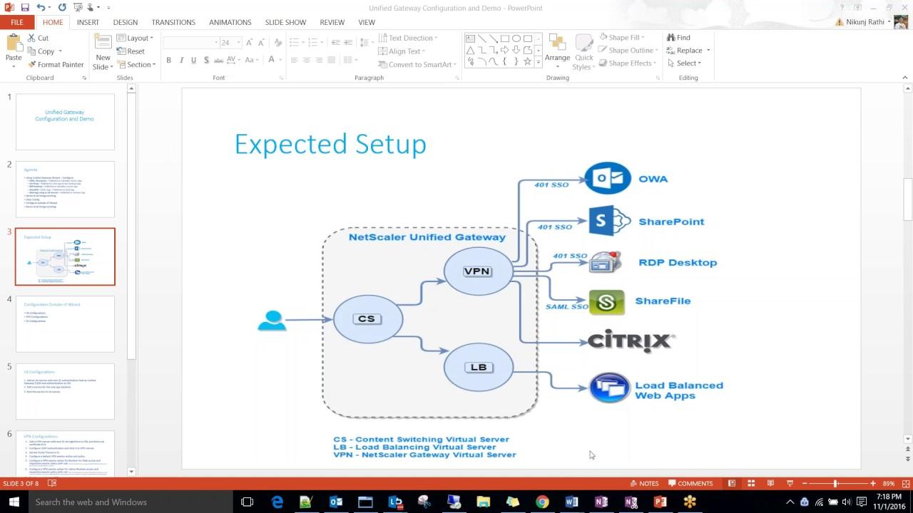 Citrix Unified Gateway Configuration Deep Dive