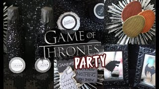 Throw a GAME OF THRONES Party! PINTEREST Inspired | Decor, Treats + Hacks!