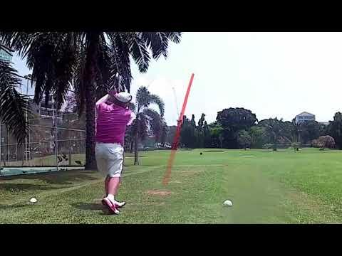 7th Hole ZZ Tee Shot Asia Pattaya Golf Course Thailand