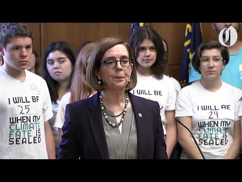 Kate Brown addresses questions on missing Republicans
