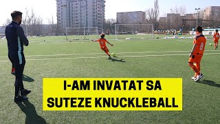 I-AM INVATAT SA SUTEZE KNUCKLEBALL LA 11-12 ANI | IMPROVED FOOTBALL