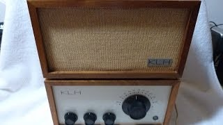 1961 KLH Model Eight HiFI TUBE Radio (made in the USA!)