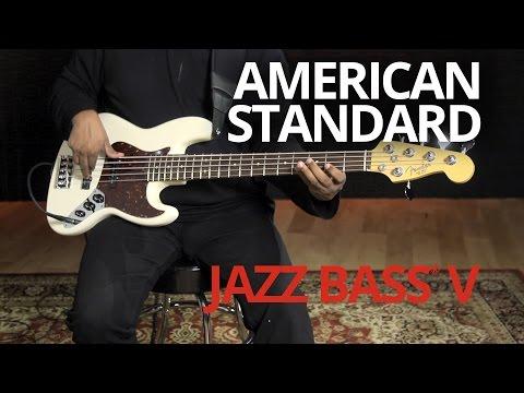 American Standard Jazz Bass® V Demo | Fender