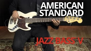 American Standard Jazz Bass® V Demo | Fender
