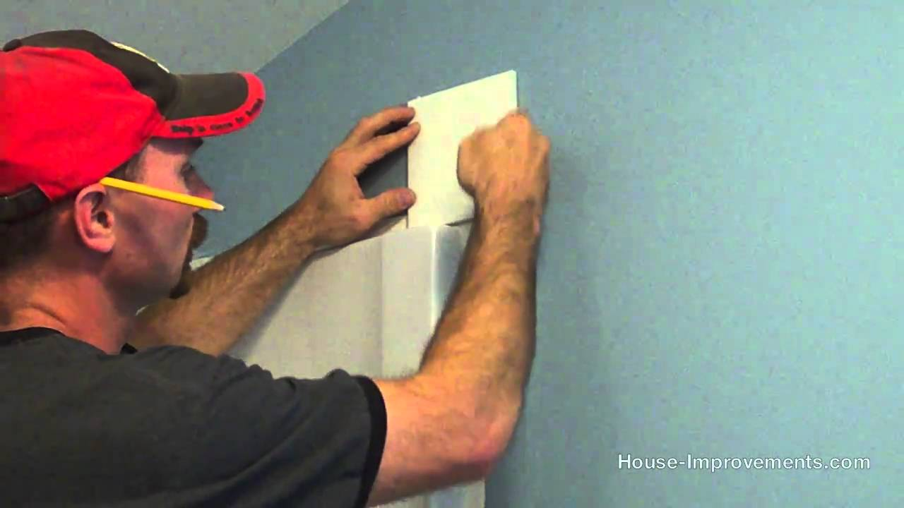 How To Install Wall Tile - YouTube