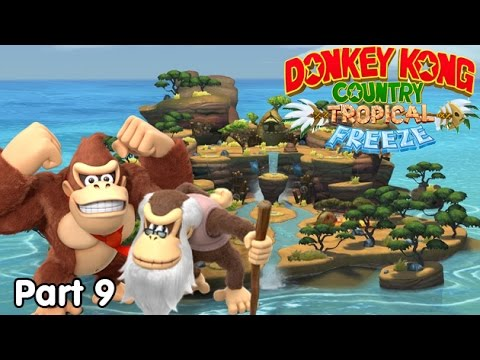 Slim Plays DKC: Tropical Freeze - #9. The Flames of the Wild