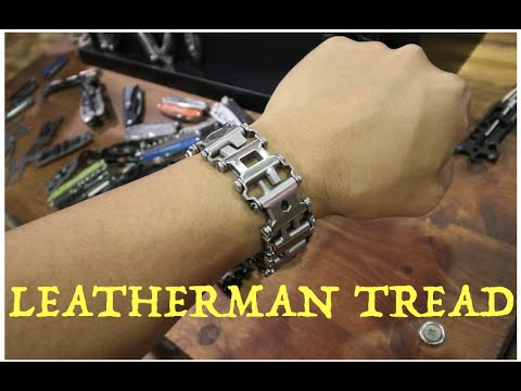 leatherman bracelet with 25 tools hidden inside :Shot Show ...