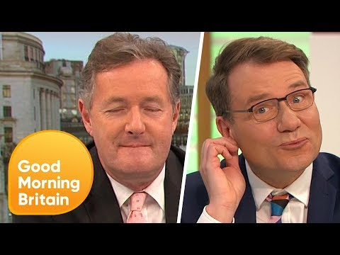 Could This Be the Steamiest GMB Moment Ever? | Good Morning Britain
